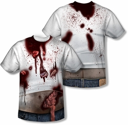 Horror mens full sublimation t-shirt Zombie Slob