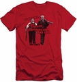 Hot Fuzz slim-fit t-shirt Day's Work mens red