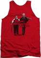 Hot Fuzz tank top Day'S Work mens red