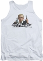 Hot Fuzz tank top Just Got Real mens white
