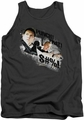 Hot Fuzz tank top Punch That mens charcoal