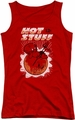 Hot Stuff juniors tank top On The Sun red