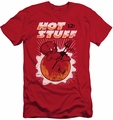 Hot Stuff slim-fit t-shirt On The Sun mens red