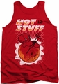 Hot Stuff tank top On The Sun mens red