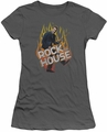House juniors t-shirt Rock The House charcoal