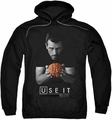 House pull-over hoodie Use It adult black