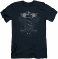 House slim-fit t-shirt Humanity Is Overrated mens navy