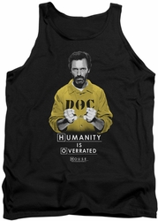 House tank top Humanity mens black
