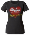 Huey Lewis and the News Power of Love juniors crew black womens pre-order