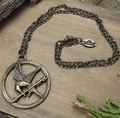 Hunger Games Movie Mockingjay Necklace
