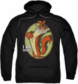 I Am Weasel pull-over hoodie Weasel adult black