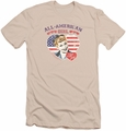 I Love Lucy slim-fit t-shirt All American mens cream