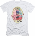 I Love Lucy slim-fit t-shirt Dreamy mens white