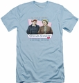 I Love Lucy slim-fit t-shirt Friends Forever mens light blue