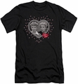 I Love Lucy slim-fit t-shirt Hearts And Dots mens black