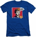 I Love Lucy slim-fit t-shirt I Love Worhol Omg mens royal