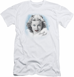 I Love Lucy slim-fit t-shirt In Blue mens white