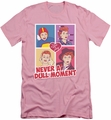 I Love Lucy slim-fit t-shirt Panels mens pink