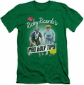 I Love Lucy slim-fit t-shirt Pro Golf Tips mens kelly green