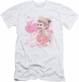 I Love Lucy slim-fit t-shirt Show Stopper mens white