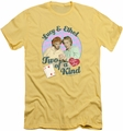 I Love Lucy slim-fit t-shirt Two Of A Kind mens banana
