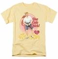 I Love Lucy t-shirt Cute Chick mens banana