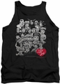I Love Lucy tank top 60 Years Of Fun mens black