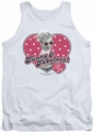 I Love Lucy tank top Funny & Fabulous mens white