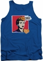 I Love Lucy tank top I Love Worhol Omg mens royal
