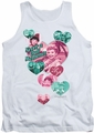I Love Lucy tank top Never A Dull Moment mens white