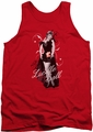 I Love Lucy tank top Signature Look mens red