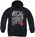 I Love Lucy youth teen hoodie 60 Years Of Fun black