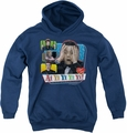 I Love Lucy youth teen hoodie Ai Yi Yi Yi Yi navy
