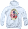 I Love Lucy youth teen hoodie Dreamy! white