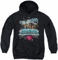 I Love Lucy youth teen hoodie Hollywood Road Trip black