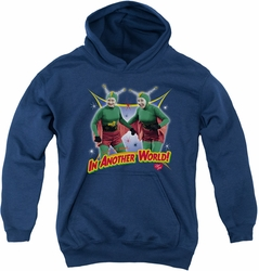 I Love Lucy youth teen hoodie In Another World navy