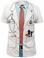 Impact Originals  big print subway t-shirt doctor mens white pre-order