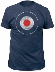 Impact Originals Distressed Mod Target Fitted Jersey t-shirt