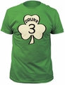 Impact Originals drunk 3 fitted jersey tee kelly green t-shirt pre-order