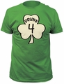 Impact Originals drunk 4 fitted jersey tee kelly green t-shirt pre-order