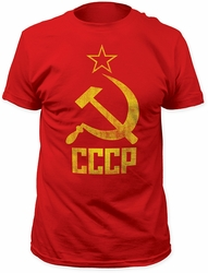 Impact Originals Hammer & Sickle Fitted Jersey t-shirt