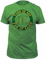 Impact Originals pot o' gold fitted jersey tee kelly green t-shirt pre-order