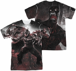 Infinite Crisis mens full sublimation t-shirt Ic Batman