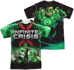 Infinite Crisis mens full sublimation t-shirt Ic Green Lantern
