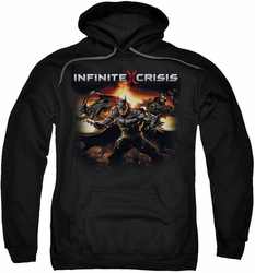 Infinite Crisis pull-over hoodie Batmen adult black