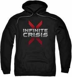 Infinite Crisis pull-over hoodie Logo adult black