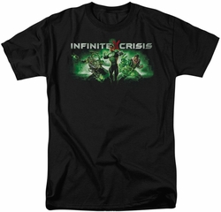 Infinite Crisis t-shirt IC Green mens black
