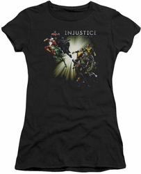 Injustice Gods Among Us juniors t-shirt Good Vs Evil black
