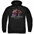 Injustice Gods Among Us pull-over hoodie Bad Girls adult black