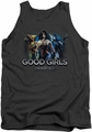 Injustice Gods Among Us tank top Good Girls mens charcoal